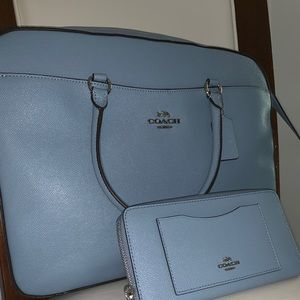 Brand new authentic Coach Bag and Wallet